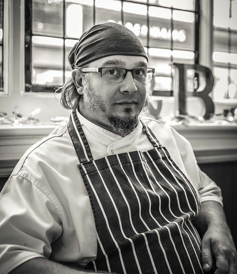 Our Head Chef Mark